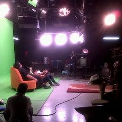 Photo taken at Studio 5 RCTI by widya n. on 7/12/2013