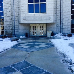 Photo taken at McKillop Library - Salve Regina by Hannah M. on 2/13/2015