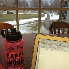 Photo taken at McKillop Library - Salve Regina by Hannah M. on 3/15/2015