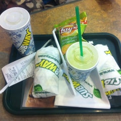Photo taken at Subway by Maria B. on 2/10/2013