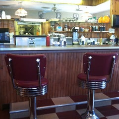 Photo taken at Top's Diner by Christopher J M. on 9/29/2013