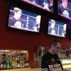 Photo taken at Buffalo Wild Wings by Aaron D. on 3/17/2013