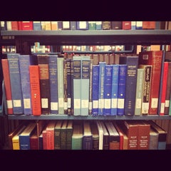 Photo taken at Langson Library (LLIB) by Jacky S. on 9/26/2012