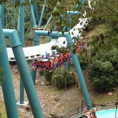 Photo taken at Alpengeist - Busch Gardens by Robert Z. on 9/29/2012