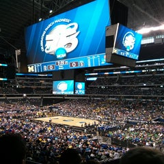 Photo taken at AT&T Stadium by Isaac H. on 3/29/2013