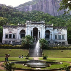 Photo taken at Parque Lage by Eric L. on 3/23/2013