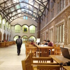 Photo taken at UW: Mary Gates Hall by Anthony W. on 10/23/2012