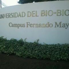 Photo taken at Universidad del Bío-Bío, Campus Fernando May by Sebastian Y. on 1/18/2013