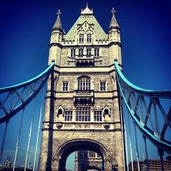 Photo taken at Tower Bridge by Nick T. on 5/3/2013