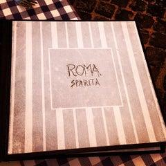 Photo taken at Roma Sparita by Nick T. on 10/10/2012