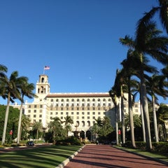 Photo taken at The Breakers Palm Beach by Luiz R. on 11/23/2012