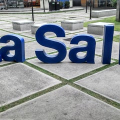 Photo taken at Universidad La Salle by Julian P. on 8/15/2013