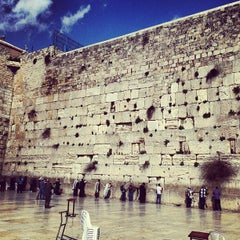 Photo taken at Western Wall (הכותל) by Lidia S. on 3/10/2013
