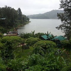 Photo taken at Bunyonyi Overland Resort by Mrs.Sjaan on 2/26/2014