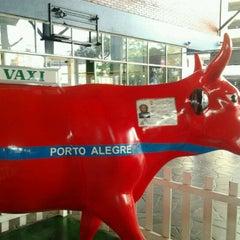 Photo taken at Estação Rodoviária de Porto Alegre by Gio S. on 9/29/2012