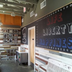 Photo taken at Liberty Kitchen & Oyster Bar by Karen L. on 7/4/2013