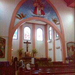 Photo taken at Gereja Katolik Kristus Raja by Fadjar M. on 12/15/2012