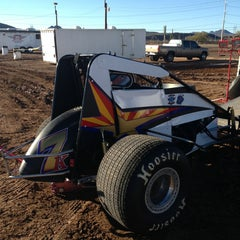 Photo taken at Canyon Speedway by Bruce S. on 1/30/2013