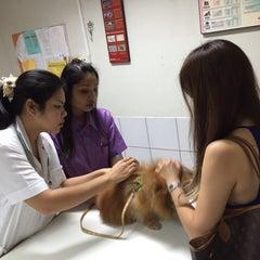 Photo taken at โรงพยาบาลสัตว์สุวรรณชาด (Suwanchard Pet Hospital) by Ying P. on 8/23/2015