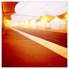 Photo taken at Gare SNCF du Mans by Gwen B. on 2/15/2013