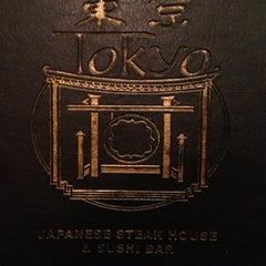 Photo taken at Tokyo Japanese Steak House & Sushi Bar by Rev TJ C. on 2/15/2013