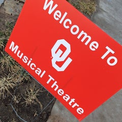 Photo taken at OU Visitor Center by Chris W. on 2/14/2014