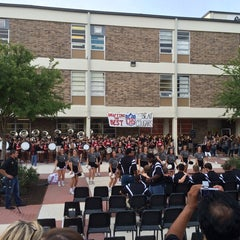 Photo taken at Churchill High School by Chris T. on 8/28/2014