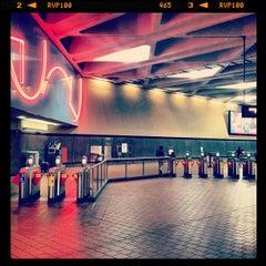 Photo taken at Charles Center Metro Station by Elliott P. on 8/16/2012