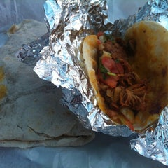 Photo taken at Yuca's Taqueria by Randall G. on 6/10/2013