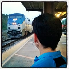 Photo taken at Amtrak Station by jim g. on 4/23/2014