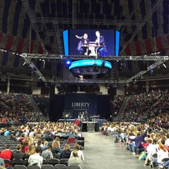 Photo taken at Vines Center by Carter B. on 4/27/2015