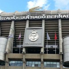 Photo taken at Estadio Santiago Bernabéu by JayD D. on 11/29/2012