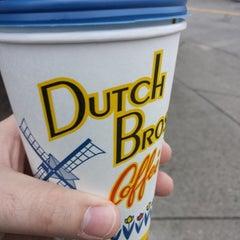 Photo taken at Dutch Bros. Coffee by Matt G. on 10/3/2013
