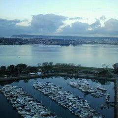 Photo taken at San Diego Marriott Marquis & Marina by DiningOutSD on 11/17/2012