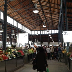 Photo taken at Mercado Central de Almería by Juan Jose T. on 12/1/2012