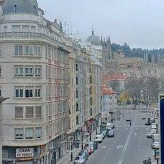 Photo taken at Hotel Corona De Castilla by Ekaterina S. on 12/23/2012