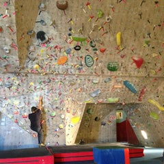 Photo taken at Red Rock Climbing Center by Dale S. on 12/28/2012