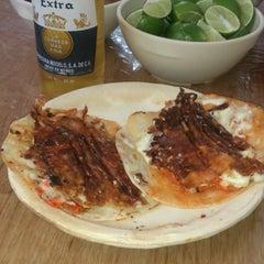 Photo taken at Tacos El Sabores by Marco R. on 1/8/2016