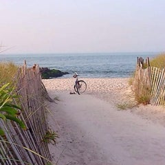 Photo taken at Civic Beach (Point Lookout) by Karin M. on 6/29/2014