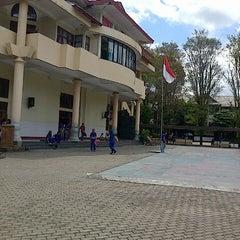 Photo taken at SMA Katolik Rex Mundi Manado by Gerry R. on 5/4/2013
