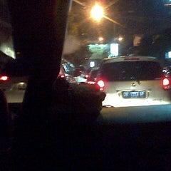 Photo taken at Jalan RW Monginsidi by Gerry R. on 9/9/2013