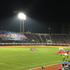 Photo taken at สนามศุภชลาศัย (Supachalasai Stadium) by UnspecialMe N. on 11/21/2015