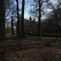 Photo taken at Kasteel Oud Poelgeest by Guido E. on 2/24/2015