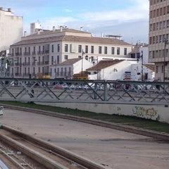 Photo taken at Puente de los Alemanes by Abraham N. on 2/3/2014