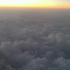 Photo taken at 35000 feet over Texas by Kevin M. on 11/26/2012