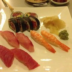 Photo taken at Fuku Sushi by Ron H. on 1/12/2014