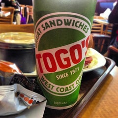 Photo taken at TOGO'S Sandwiches by Ron H. on 1/4/2013