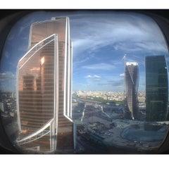 Снимок сделан в Башня «Федерация» / Federation Tower пользователем Mikhael S. 7/17/2013