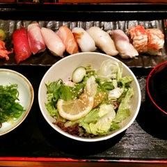 Photo taken at Standing Sushi Bar by Michael John E. on 3/11/2015