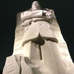 Photo taken at Martin Luther King, Jr. Memorial by Jamilah M. on 1/13/2013
